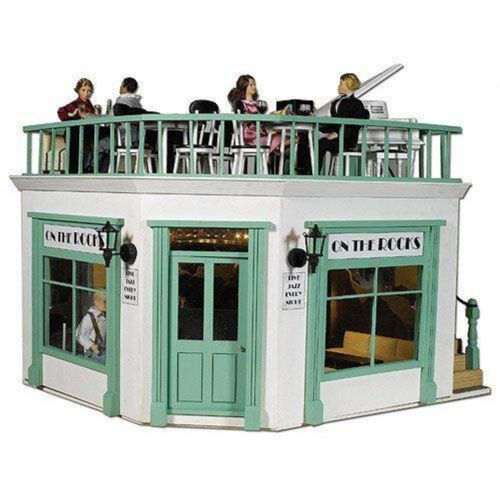 The Corner Shop Kit Part 1, Ground Floor Terrace Dolls House Emporium